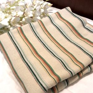 Anthropology blanket throw spread cover striped